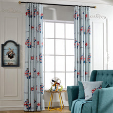 Load image into Gallery viewer, Gyrohomestore Lovely Printed Rod Pocket Kids Blackout Curtains