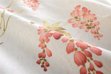 Load image into Gallery viewer, Gyrohomestore Floral Flowers Blackout Rod Pocket Energy Efficient Window Draps