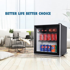 Gyrohomestore Evolution 1.6CU.FT. Freestanding Beverage Refrigerator