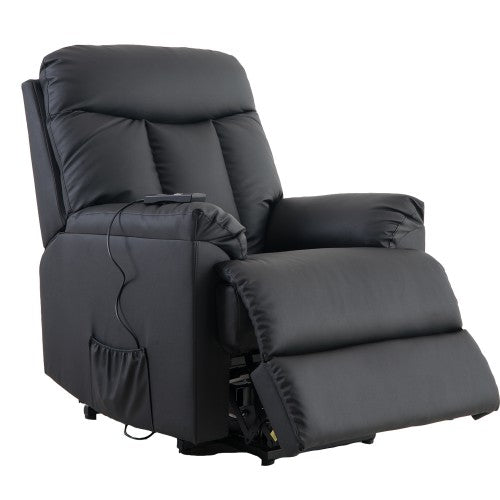 Gyrohomestore PU Leather Living Room Heavy Duty Reclining Lift Chair