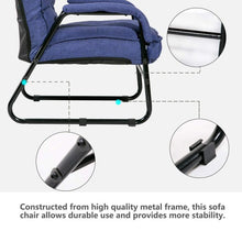 Load image into Gallery viewer, Gyrohomestore Portable Convertible Folding Lounge Adjustable Floor Sofa