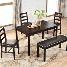 Load image into Gallery viewer, Gyrohomestore Harper Bright Designs 5 Pieces Dining Table Set