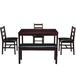 Gyrohomestore Harper Bright Designs 5 Pieces Dining Table Set