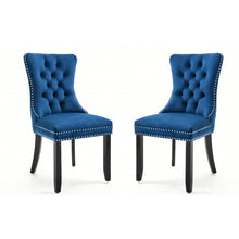 Load image into Gallery viewer, Gyrohomestore High-end Tufted Solid Wood Upholstered Dining Chair