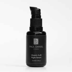 PAUL DANIEL Vitamin A & B Night Serum with Anti-Aging Peptides 30ml