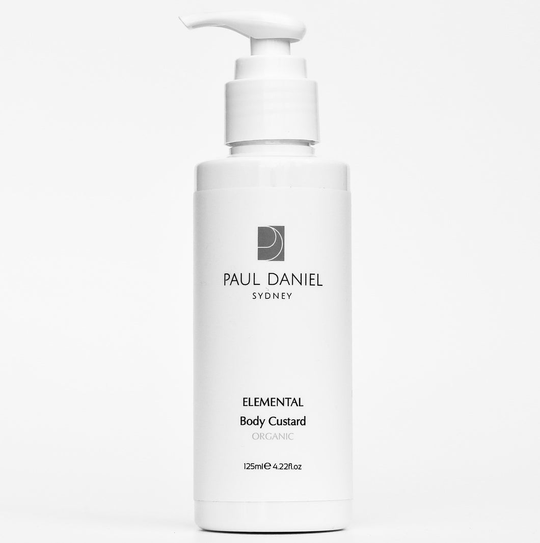 PAUL DANIEL Nourishing Elemental Body Custard Organic 125ml