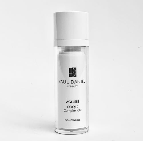 PAUL DANIEL Ageless CoEnzyme Q10 Complex Oil, Vitamin Rich Cosmeceutical Skin Food 30ml.