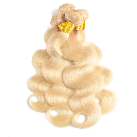 613 Brazilian Body Wave Hair I 4 Bundles - MyHairGlory