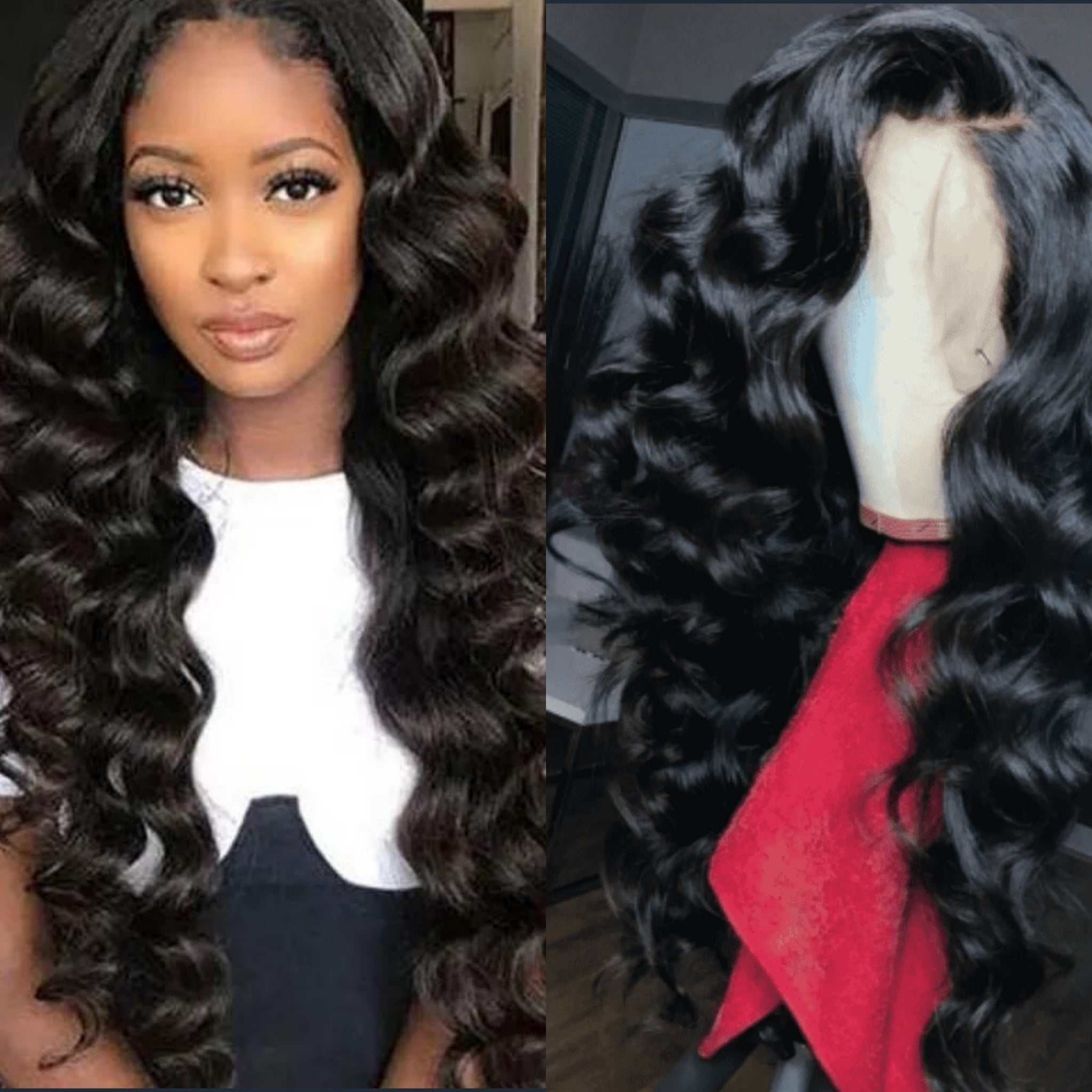13x4 Lace Front Loose Wave  I Brazilian Hair - MyHairGlory