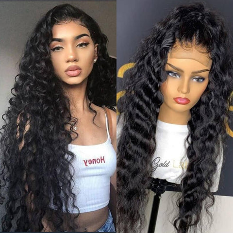 6X6 Brazilian Natural Wave I 180% Density I Lace Front Wig - MyHairGlory