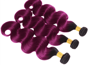 Body Wave Hair I Purple Hair I Virgin Hair I 5% Off I Free Shipping I MyHairGlory