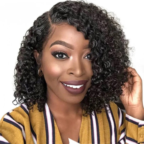 13x4 Brazilian Curly Bob I Lace Front Wig - MyHairGlory