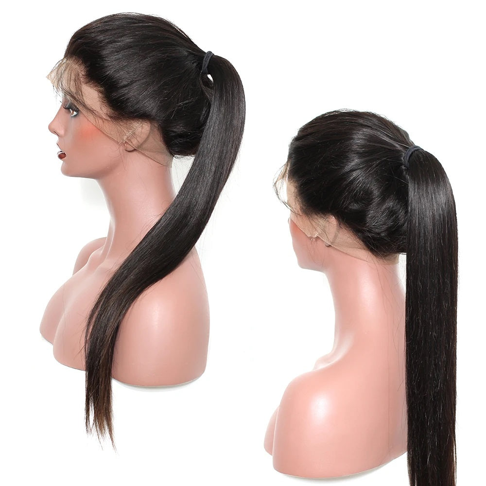 360 Lace Frontal I Virgin Straight Hair - MyHairGlory