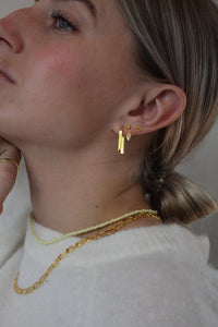 Oorbellen - Hypatia - Gold plated