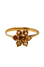 Load image into Gallery viewer, Ringen - Flower citrine - 14K Gold