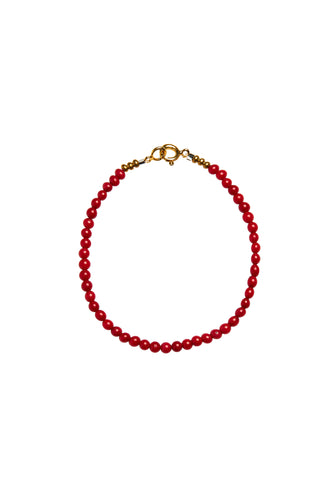 Armbanden - Coral - Gold plated