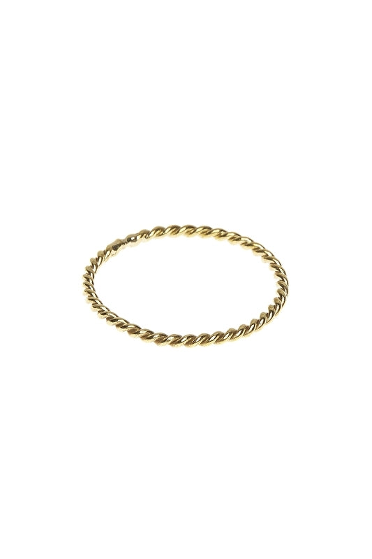 Ringen - twisted - brass