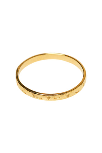Ringen - Melba - 14K Gold 2 mm