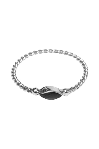 Ringen - Twisted eyeshape - Silver