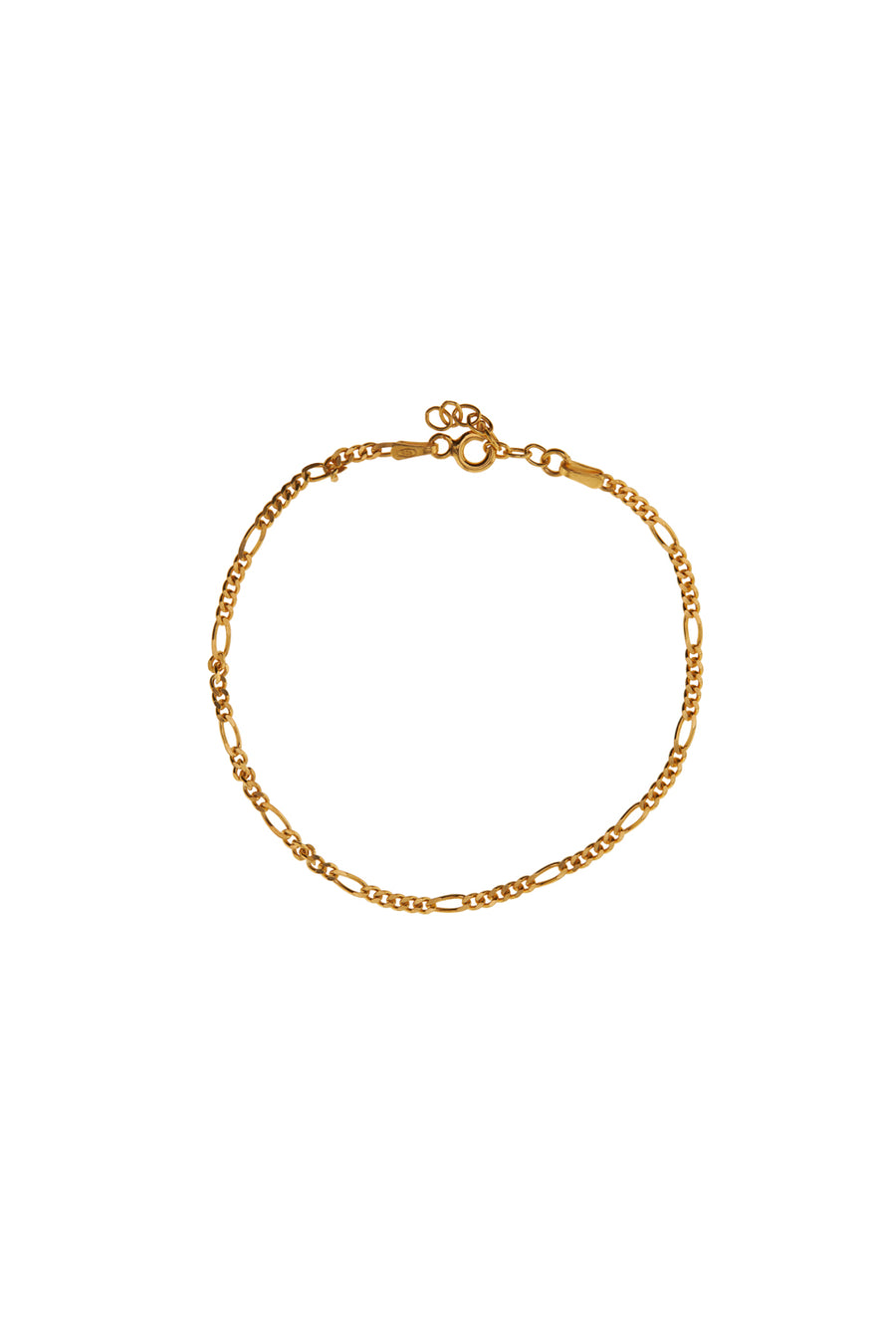 Armbanden - Figaro - Gold plated