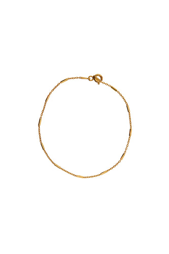 Armbanden - Chain bar - Gold plated