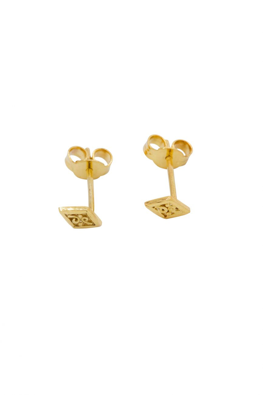 Earring kite 14 crt. gold