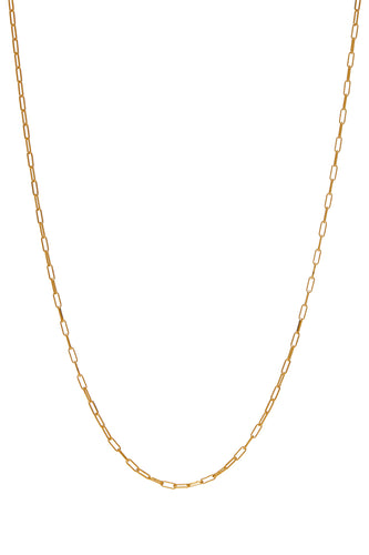 Kettingen - Chain square - Gold plated
