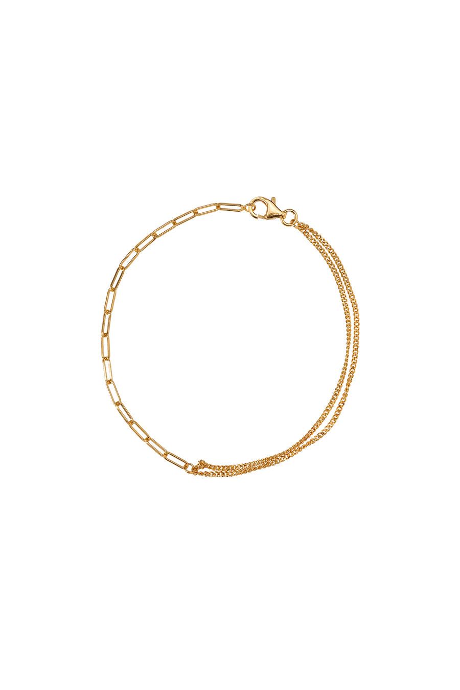 Xzota | Armbanden | Double chain | Gold plated