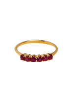 Load image into Gallery viewer, Ringen -  Ruby - 14K Gold