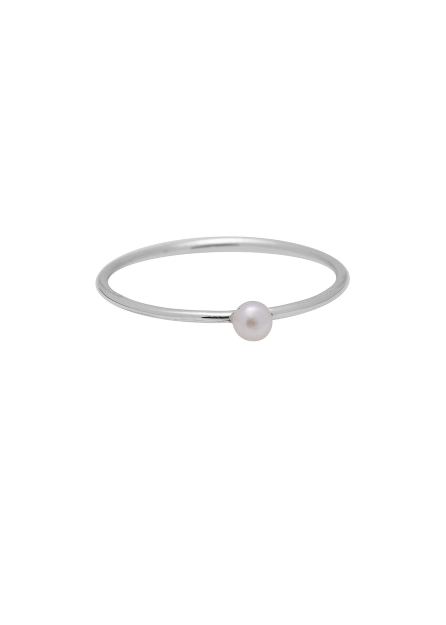Ringen - Tiny pearl - Silver