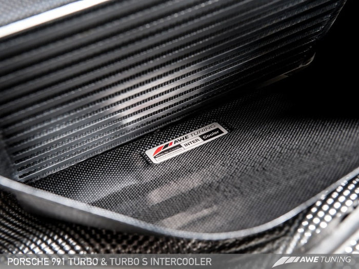 AWE Tuning Porsche 991 (991.2) Turbo/Turbo S Performance Intercooler Kit - Euromotive