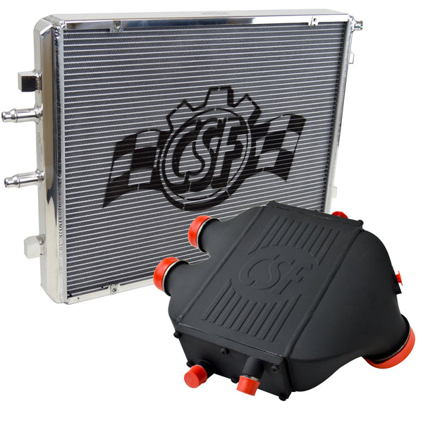 CSF F8X M2C/M3/M4 CHARGE-AIR-COOLER + HEAT EXCHANGER PACKAGE - Euromotive