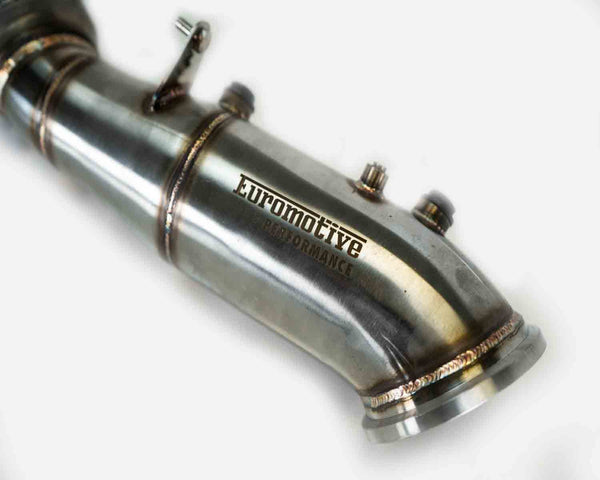 Euromotive Performance Competition 4'' Catless Downpipe for 2016+ BMW B46 Engine - Euromotive