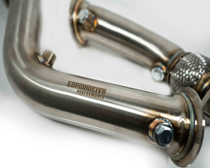 Euromotive Performance High Flow Flex Downpipes 2014+ BMW M3, M4, M2C -S55- F80 F82 F83 F87 - Euromotive
