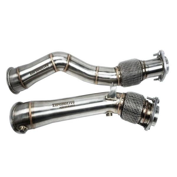 Euromotive Performance - BMW F97 X3M / F98 X4M - S58 Catless Downpipe