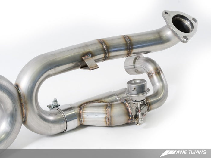 AWE Tuning Porsche 991 SwitchPath Exhaust for PSE Cars (no tips) - Euromotive