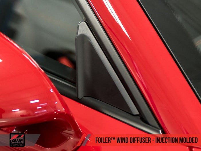 AWE Tuning Foiler Wind Diffuser for Porsche 991 / 981 / 718 - Euromotive