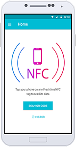 Freshtime™ Mobile - NFC Reader