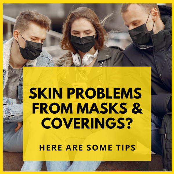 How to Prevent Skin Problems From Wearing Face Masks and Coverings