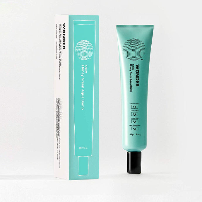 [Buy 1 Free 1] Haruharu WONDER Honey Green Aqua Bomb Cream 38g
