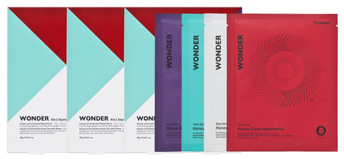 Haruharu WONDER Sheet Mask Value Kit (25g x 4EA x 3 sets)