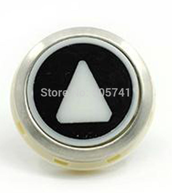 kone black button round - Elevators spare parts