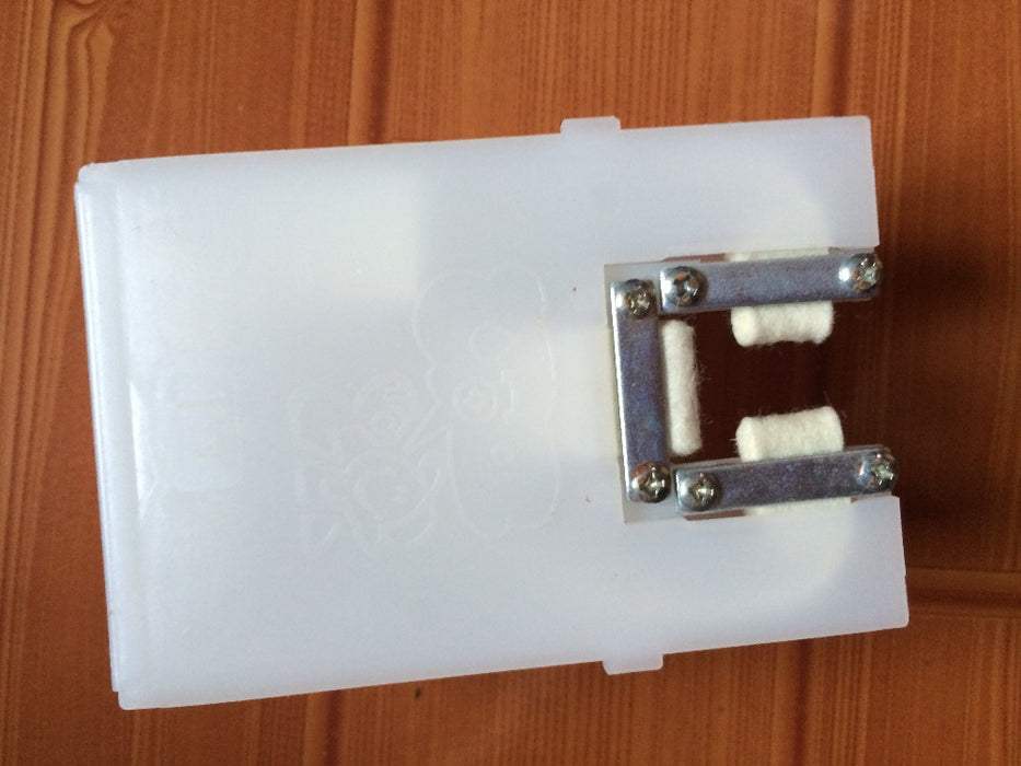 Elevator guide oil box KM86375G16 - Elevators spare parts