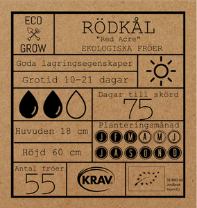 RÖDKÅL - RED ACRE