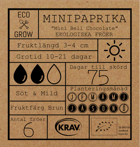 MINIPAPRIKA - MINI BELL CHOCOLATE