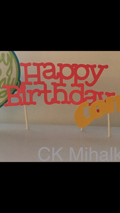 Birthday Cake Topper Collection