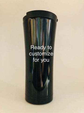 16.9oz. (500ml) BLACK Flask