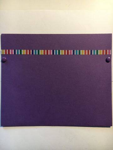 pocket envelope, purple, gift card envelope