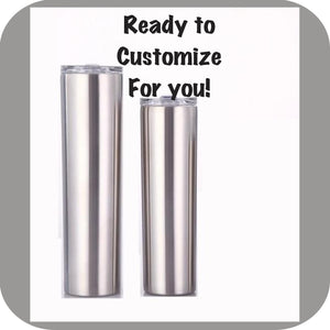 30 ozStainless Steel Skinny Tumbler