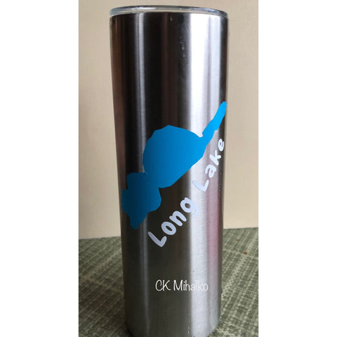 20 oz Tumbler BUNDLE 1 (includes lake, lake name & name)